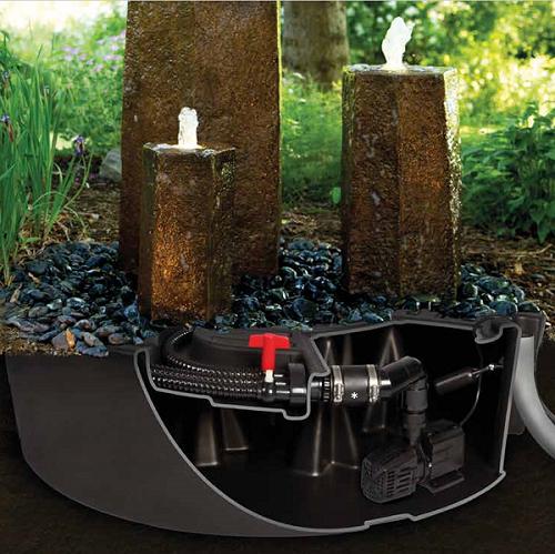 OASE Wasserreservoires