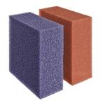 Ersatzschwamm Set rot/violett BioTec 40-/90000