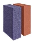 Ersatzschwamm Set rot/violett BioTec 60/140