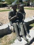 Bronzefigur Sonderanfertigung: Liebespaar
