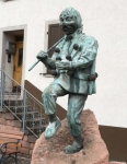 Bronzefigur Sonderanfertigung: Narrenfigur