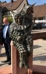 Bronzefigur Sonderanfertigung: Schergässler-Figur