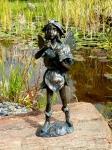 Rottenecker BronzefigurFee stehend