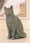 Rottenecker Bronzefigur Kater Fynn