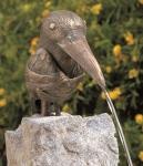 Rottenecker Bronzefigur Aramis, wasserspeiend