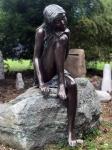 Rottenecker Bronzeskulptur Emanuelle ganz groß 110cm