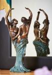 Rottenecker Bronzefigur Tanzendes Liebespaar