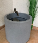 Rottenecker Bronzefigur Brunnenset home mit Froschkönig Heinrich