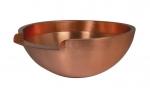 OASE Fontänenschale aus edlem Kupfer rund 50