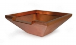OASE Fontänenschale aus edlem Kupfer quadratisch 50