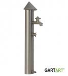 GART+ART Wasser-Paneel, bodenstehend mit Anschluss Edelstahl