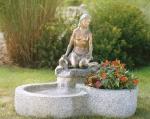 Rottenecker Bronzeskulptur Jasmin, wasserspeiend
