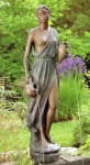 Rottenecker Bronzeskulptur Medea, wasserspeiend
