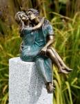 Rottenecker Bronzefigur Junges Glück