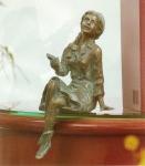 Rottenecker Bronzefigur Emily mini
