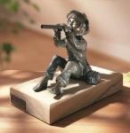 Rottenecker Bronzefigur Toni mini