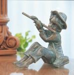Rottenecker Bronzefigur Hans mini