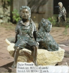 Rottenecker Bronzefigur Franzl
