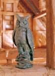 Rottenecker Bronzefigur Eule