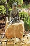 Rottenecker Bronzefigur Michel, wasserspeiend