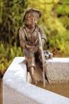 Rottenecker Bronzefigur Aaron, wasserspeiend