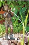 Rottenecker Bronzefigur Lorenz, wasserspeiend