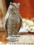 Rottenecker Bronzefigur Uhu mini