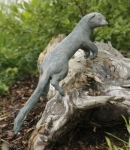 Rottenecker Bronzefigur Iltis