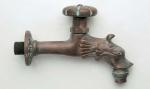 Rottenecker Wasserauslauf mit Absperrung