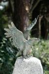 Rottenecker Bronzefigur Seeadler klein