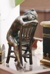 Rottenecker Bronzefigur Anaiis klein, wasserspeiend