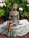 Rottenecker Bronzefigur Emily klein