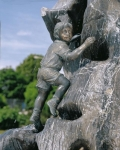 Rottenecker Bronzefigur Malte mini