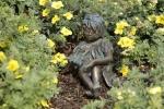 Rottenecker BronzefigurWiesenkind Sommer