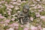 Rottenecker BronzefigurWiesenkind Herbst