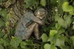 Rottenecker BronzefigurWiesenkind Winter
