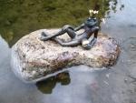 Rottenecker Bronzefigur FroschkönigEugen
