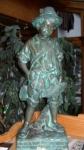 Rottenecker Bronzefigur Treiber