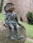Rottenecker Bronzefigur Xeverin