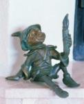 Rottenecker Bronzefigur Nepomuk