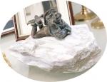 Rottenecker Bronzefigur Willibald
