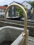 Brunneneinlauf Messing 1