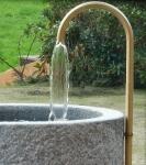 Umlaufsystem für Granitbrunnen 1 Messing