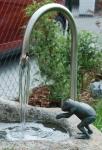 Umlaufsystem für Granitbrunnen 1 1/4 Edelstahl