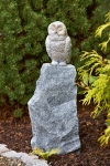 Rottenecker Bronzefigur Baby Schnee Eule