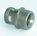GART+ART Adapteranschluss M24 x 3/4, Edelstahl-Optik