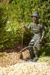 Rottenecker Bronzefigur Jakob der Gärtner