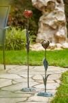 Rottenecker Bronzefigur Tulpe klein, rot