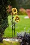 Rottenecker Bronzefigur Sonnenblumen