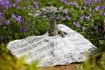 Rottenecker Bronzefigur Bonsai klein auf Granit
